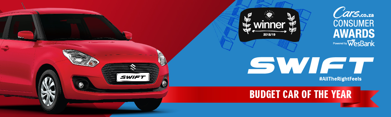 Suzuki swift - an award winning car