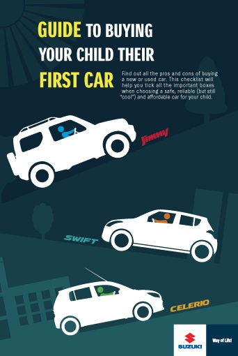Buying the first car for a child