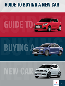 Guide to buying a new car