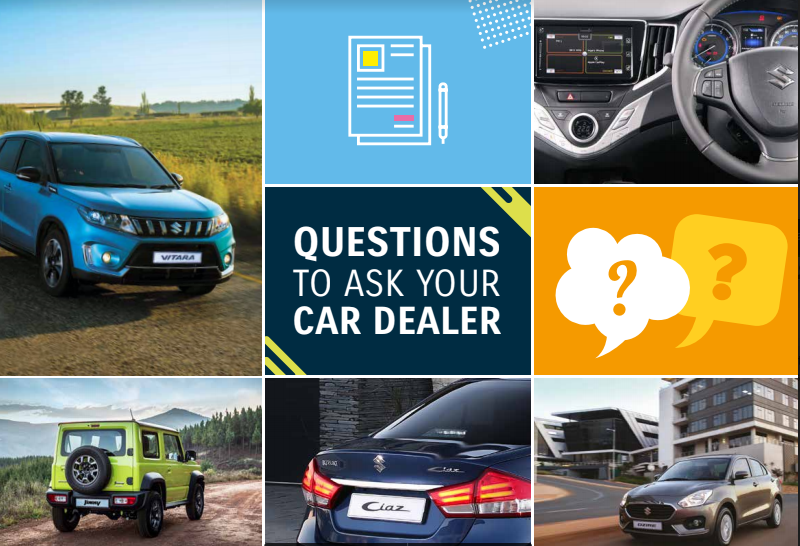 Questions to ask your dealer
