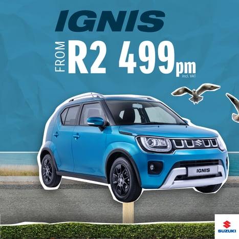 Book a test drive in the Suzuki Ignis