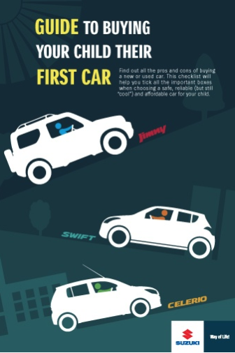 Guide to buying your child their first car