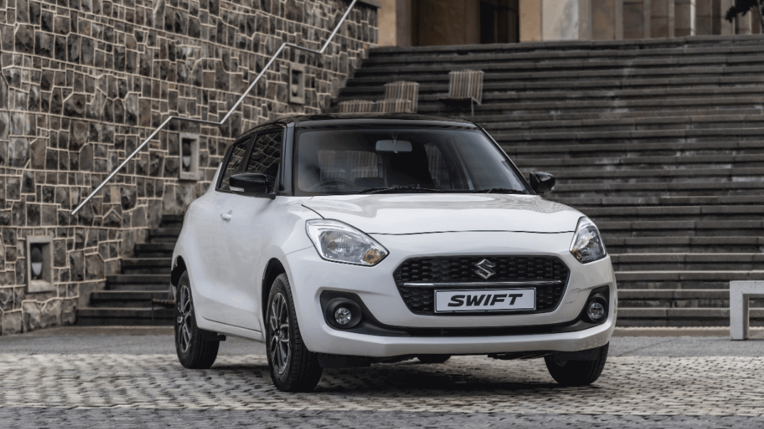 Suzuki Swift is a best selling vehicle in South Africa