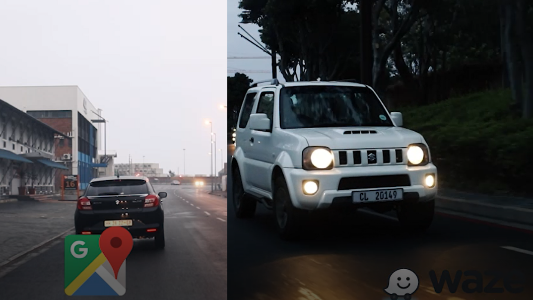 Real-time road test: Waze vs Google Maps